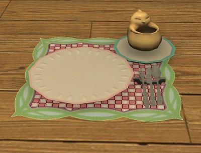 「FF14」エッグ・チョコレートケーキ:空っぽ
