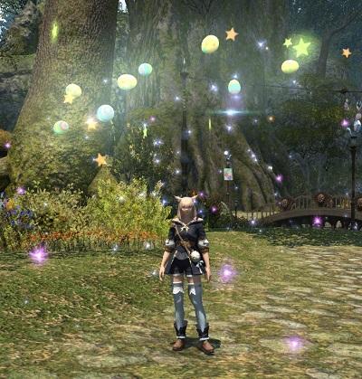 「FF14」マジックプリズム:エッグハント