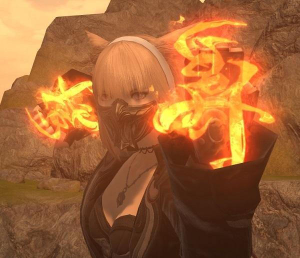 「FF14」GARO:魔戒拳見た目