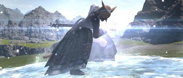 「FF14」魔戒闘師:ミコッテ「スクリーンショット」