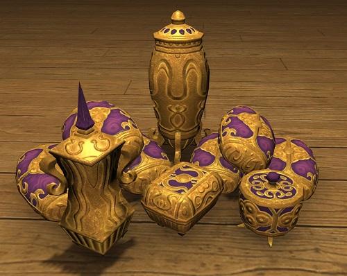 「FF14」調度品:アナンタ族の宝物