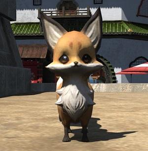 「FF14」豆妖狐(ミニオン)