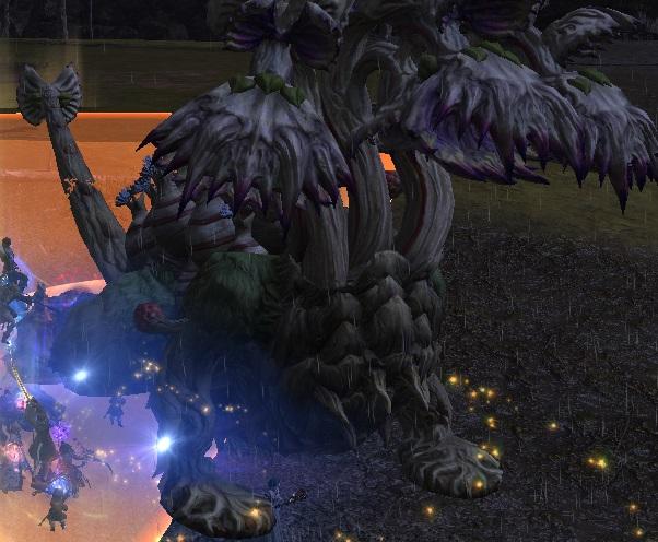 「FF14」ヒュダトス禁断の地エウレカ:食妖植物「レウケー」