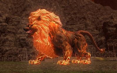 「FF14」ヒュダトス禁断の地エウレカ:業炎の獅子王「バロン」
