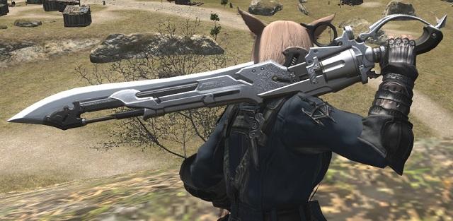 「FF14」ガンブレイカーAFミコッテ