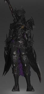 「FF14」暗黒騎士:70AF装備
