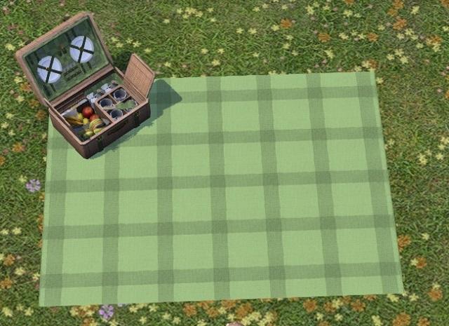 「FF14」ピクニックセット見た目