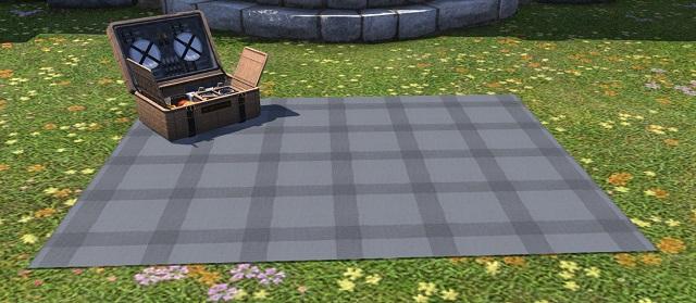 「FF14」ピクニックセット:染色ストーングレイ