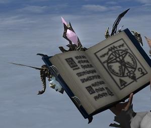 「FF14」召喚士:「ドラコノミコン」アニマウェポン