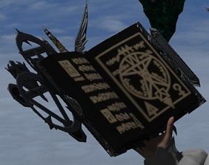「FF14」召喚士:「ブック・オブ・マッドクィーン」磨かれしアニマウェポン