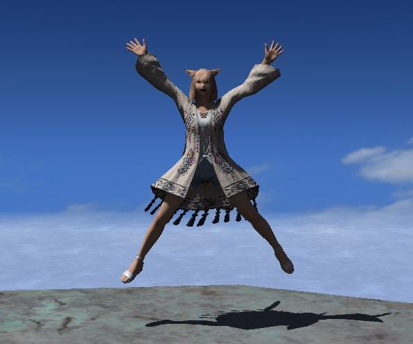「FF14」エモート:モグモグダンス